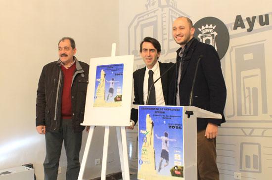 Imagen de la presentación del Campeonato de Andalucía de Bádminton Senior.
