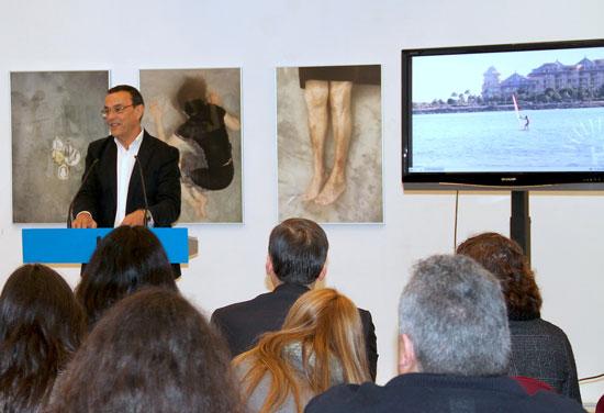 Ignacio Caraballo presenta en la Diputación de Huelva el Plan Estratégico de Turismo.