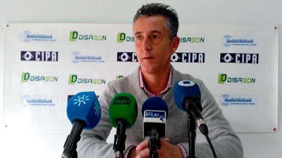 Alejandro Caballos en rueda de prensa.