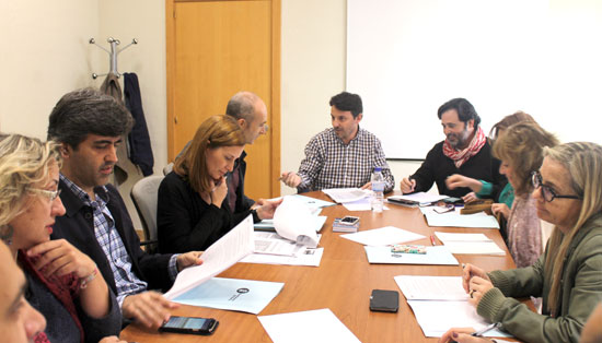 Imagen de una reunión de la Edusi.