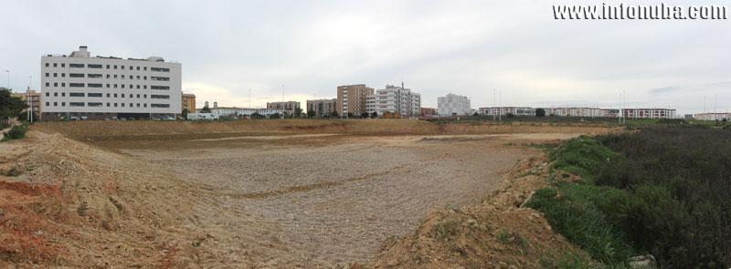 Imagen de la zona afectada.