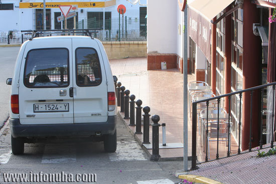 Imagen general del paso para los peatones.
