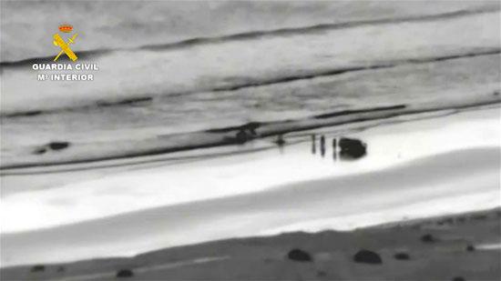 Imagen de la operación antidroga.