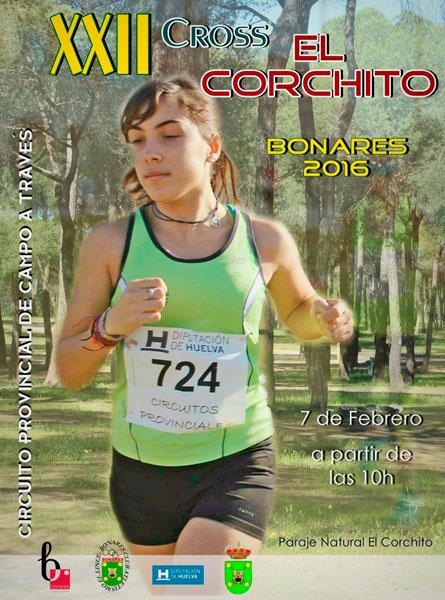 Cartel de la décima-segunda edición del Cross El Corchito,
