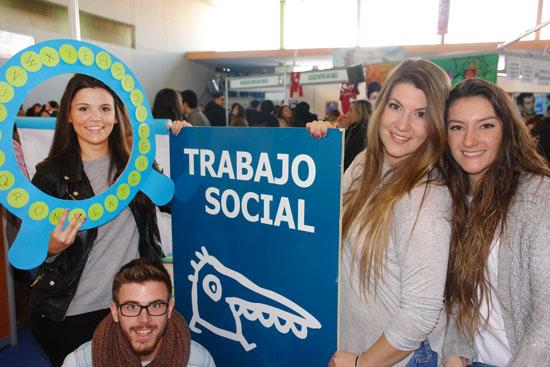 Estudiantes de Trabajo Social.