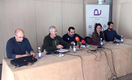 En el Día mundial de los Humedales Greenpeace, Mesa de la Ría, Verdemar-Ecologistas en Acción y WWF han mostrado su rechazo a la instalación en Andalucía o en cualquier otro lugar de España de una nueva refinería de petróleo.