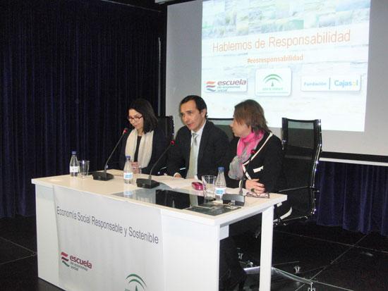 Presentación del encuentro 'Hablemos de responsabilidad' organizado por la Escuela de Economía Social