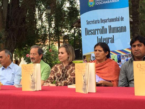 El departamento boliviano de Cochabamba ha acogido esta semana la presentación en diversos actos de una edición muy especial de la obra más universal del nobel moguereño Juan Ramón Jiménez, Platero y yo, traducida al quechua.