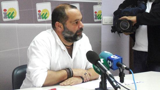 Rafael Sánchez Rufo, en rueda de prensa.