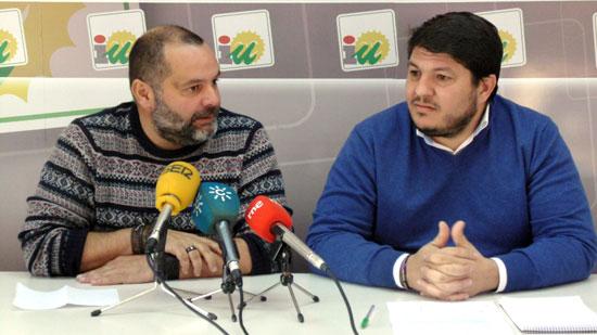Rafael Sánchez Rufo y Marcos Toti en rueda de prensa.