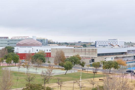 Imagen de las instalaciones de la Universidad de Huelva.