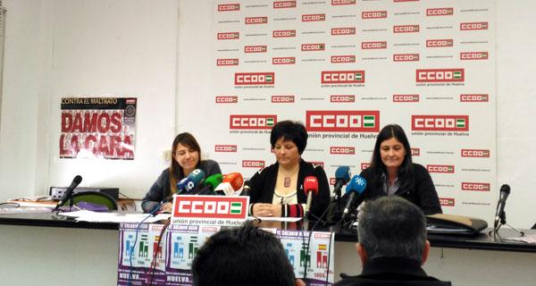 Con motivo de la celebración del 22 de febrero, Día Internacional de la Brecha Salarial, el sindicato CCOO de Huelva ha presentado una campaña para informar y sensibilizar a la ciudadanía de la lamentable situación salarial de las mujeres en Huelva.