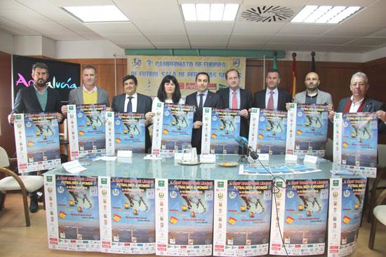 Presentación del III Campeonato de Europa de Fútbol Sala para Sordos.