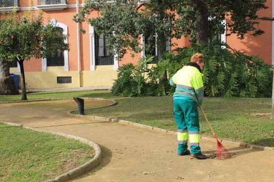 Imagen de una persona trabajando.
