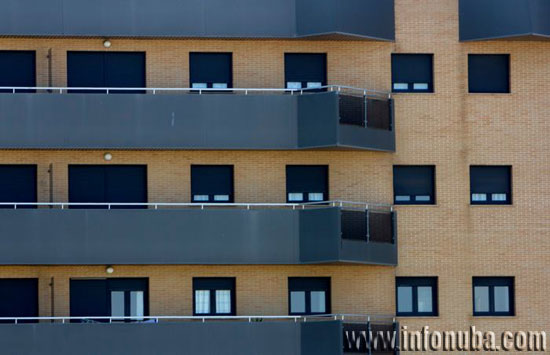 Imagen de viviendas en la ciudad de Huelva.