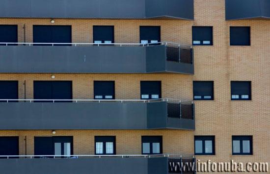 Imagen de un edificio de viviendas.