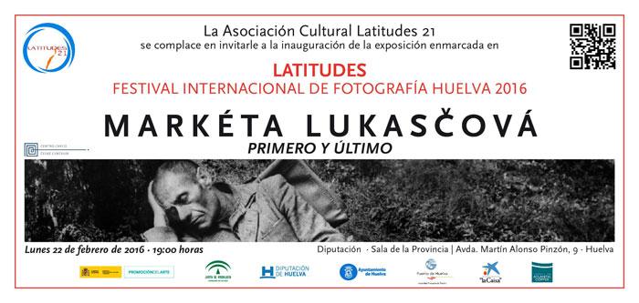 """Exposición """"PRIMERO Y ÚLTIMO"""" de Markéta Luskačová."""