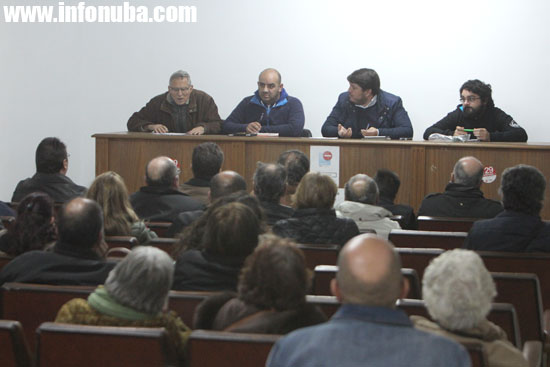 Asamblea abierta celebrada ayer en Minas de Riotinto