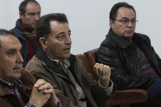 Asamblea abierta celebrada ayer en Minas de Riotinto.