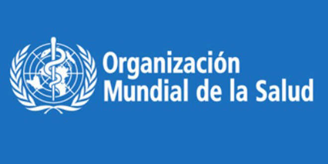 Logo de la OMS.