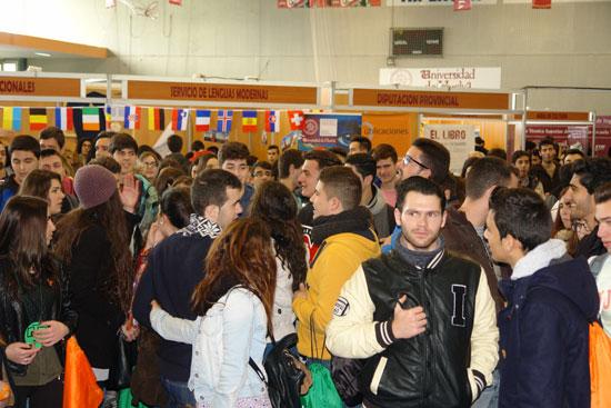 Imagen de unas Jornadas de Puertas Abiertas en la UHU.
