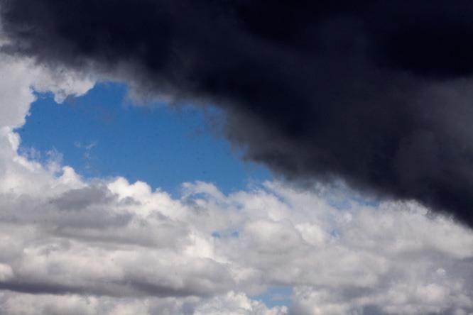 Imagen de nubes.