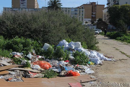 Imagen de las basuras.