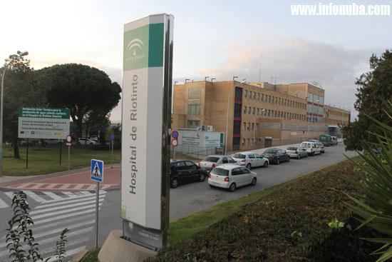 Imagen del Hospital Comarcal de Minas de Riotinto.