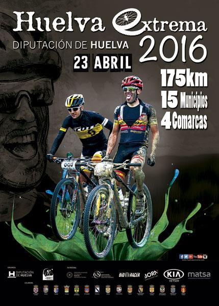 """Cartel de la """"Huelva Extrema 2016"""""""