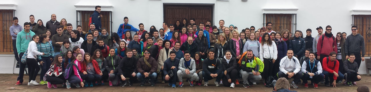 Imagen de un encuentro de estudiantes Erasmus.