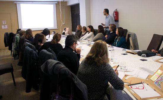 Imagen de uno de los cursos realizados.