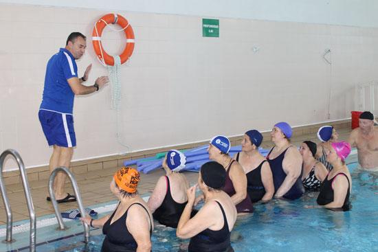 Imagen de la actividad deportiva.