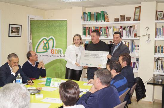 Imagen de una de las acciones en materia medioambiental de la Diputación Provincial de Huelva.