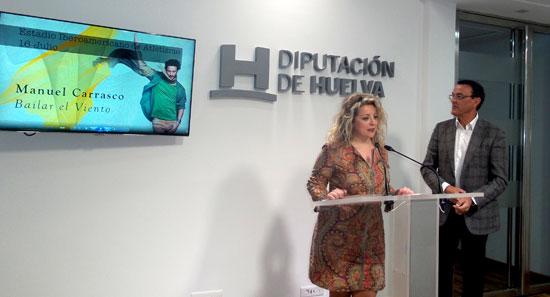 Acto de presentación de la programación musical de verano en el Estadio Iberoamericano de Atletismo.
