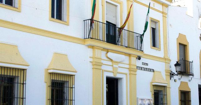 Imagen del Ayuntamiento de Santa Olalla.
