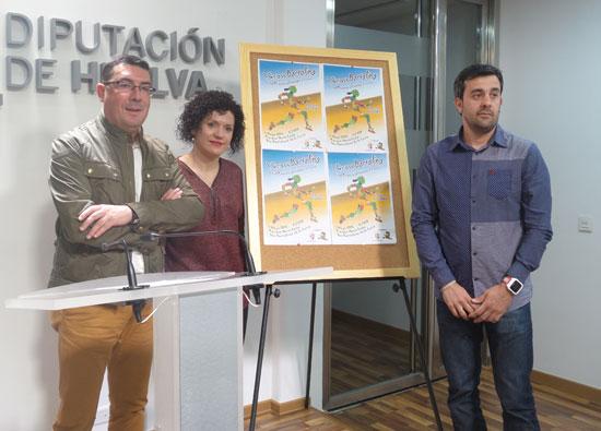 Presentación en la Diputación de Huelva del I Cross Bartolino.