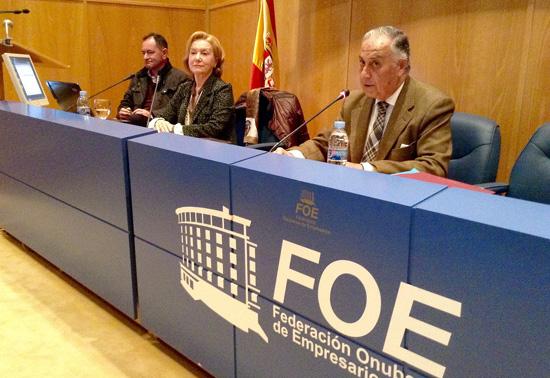 Enrique Pérez Viguera durante su intervención.
