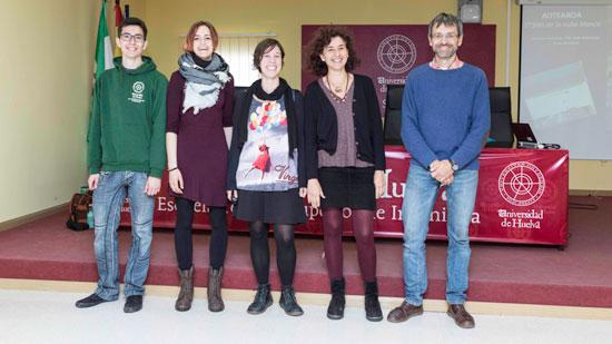 Imagen de algunos de los participantes en las XII Jornadas Forestales de la UHU.