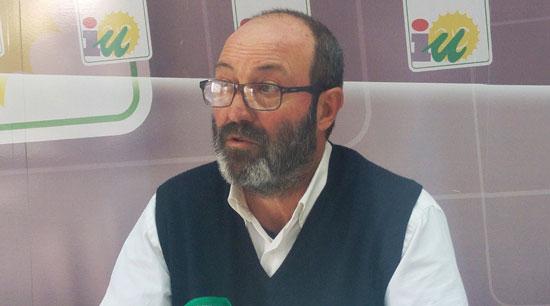 Pedro Jiménez en rueda de prensa.