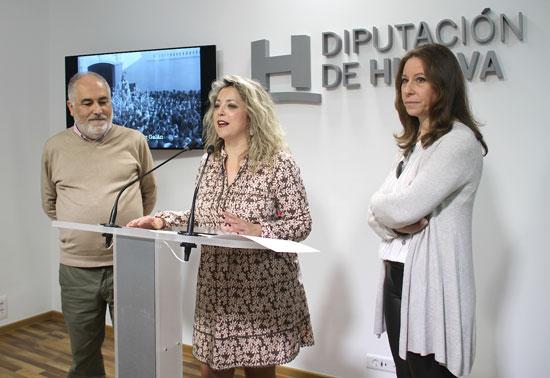"""Presentación del proyecto """"Territorio 100 imágenes Huelva""""."""