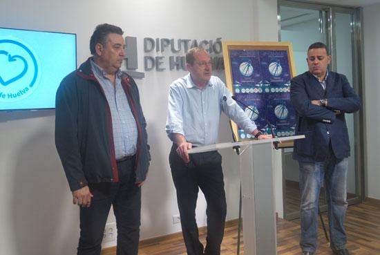 Acto de presentación del del Campus 'Siente Huelva' de Baloncesto EB Huelva 2016.