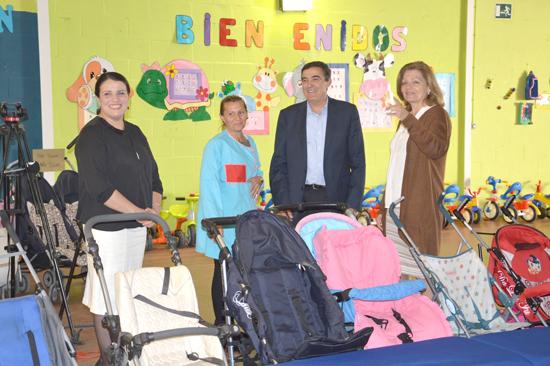 Imagen de la visita a a la Escuela Infantil Doñanita de Almonte