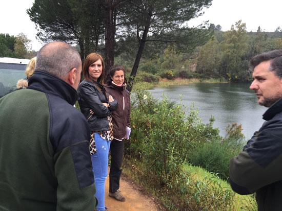 Imagen de la visita de Rocío Jiménez a La Pata del Caballo.