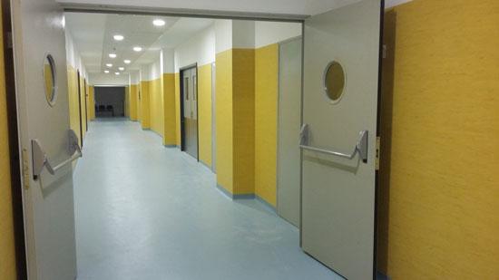 Imagen del interior del Hospital Infanta Elena.