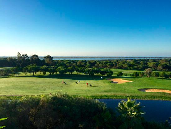Imagen de uno de los campos de golf de la provincia.