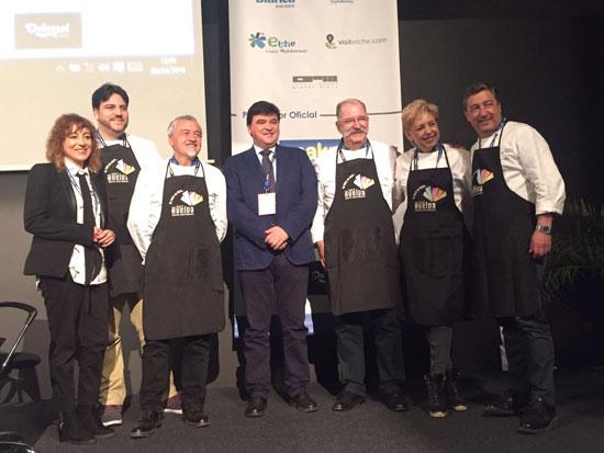 Embajadores de la candidatura de Huelva 2017.