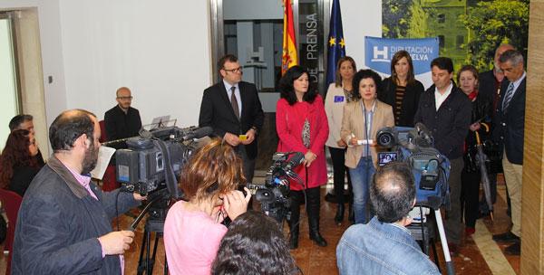 Acto de celebración del Día de Europa en la Diputación.