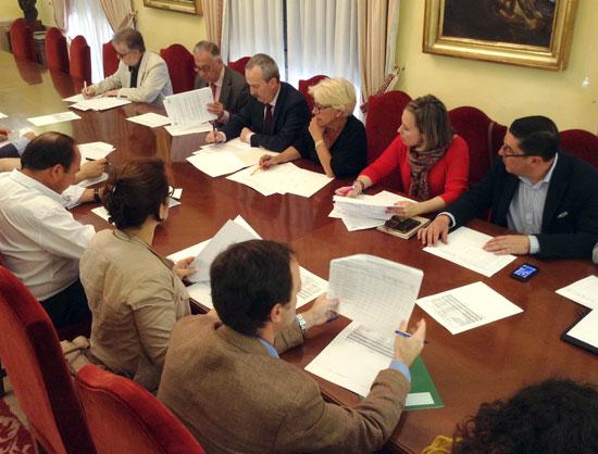 Imagen de la Comisión sobre el PROFEA.