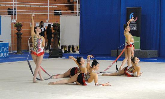 Imagen de uno de los equipos participantes en la prueba.