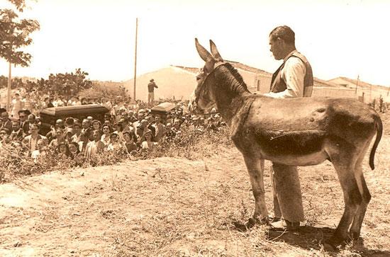 Foto del entierro de Juan-Ramón.